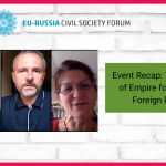 Watch our event on the Legacy of Empire for Russian Foreign Policy